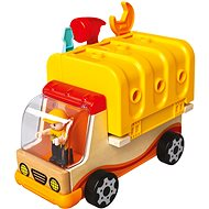 Bino Multifunctional Car with Tools - Wooden Toy