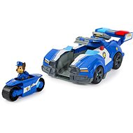Paw Patrol Movie Chase's Car and Motorbike in One - Toy Car