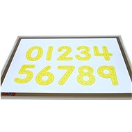 Numerals - Yellow Silicone (10 pcs) - Educational Set