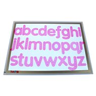 Letters - Pink Silicone (26 pcs) - Educational Set