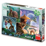 Raya and Friends 3x55 Puzzle - Puzzle