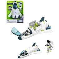 Space rocket with accessories, 28 cm, battery operated - Thematic Toy Set