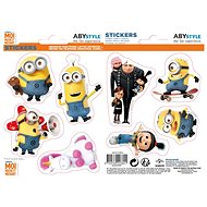 ABYstyle - Minions - Stickers -16x11cm/ 2 planches - Minions X5 - Stickers