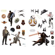 """ABYstyle - Star Wars - Stickers - 100x70cm - """"The Force Awakens"""" (Blister)* - Children's Bedroom Decoration"""