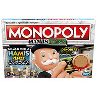 Monopoly Crooked Cash - HU version - Board Game