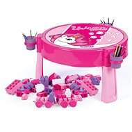 Dolu 2-in-1 Play Table with Unicorn Blocks