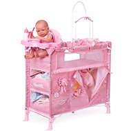DeCuevas Toys Maria 2018 Carrusel Folding Bed for Dolls with 5 Functional Accessories - Furniture for Dolls