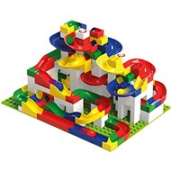 Hubelino Marble Run - set with Maxi building blocks