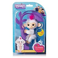 Fingerlings - Sophie Baby Monkey, White - Interactive Toy