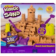 Kinetic Sand Beach Sand Kingdom - Creative Kit