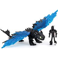 Dragons Legends Evolved, Hiccup and Toothless, Dragon with Viking Figure - Figure