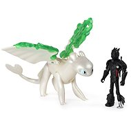Draci 3 Drak a viking - Hiccup & Lightfury Legends evolved - Figure