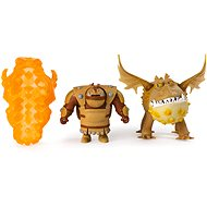 Draci 3 Drak a viking - Fishlegs & Meatlug Legends evolved - Figure