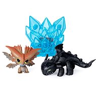 Dragons 3 Multi-gift Packs - Bear and Brown Dragon - Figures