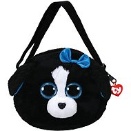 Ty Gear shoulder bag Tracey - black / white dog 15 cm - Plush Toy