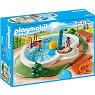 Playmobil 9422 Family Fun Swimming Pool - Building Kit