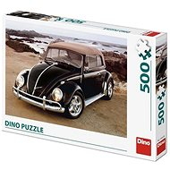 Dino VW Beetle on the Beach - Puzzle