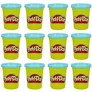 Play-Doh pack of 12 blue cups - Modelling Clay