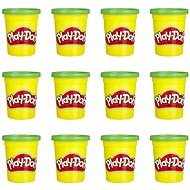 Play-Doh pack of 12 cups green - Modelling Clay