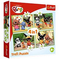 Bing Bunny 4in1 Bing's Lucky Day - Puzzle
