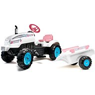 Butterfly Farmer pedal tractor with flatbed