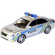 MaDe Police Car with Czech Voice, Wind_up, 24cm - Toy Vehicle