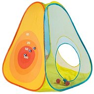 Playing tent with target