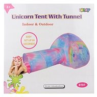 Tent unicorns with tunnel