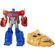 Transformers Cyberverse Figurine Optimus Prime with Accessories - Autorobot