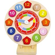 Wooden clock insertion - Puzzle
