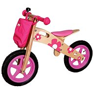 Pink floral bouncer - Balance Bike/Ride-on