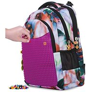 Pixie Crew student backpack coloured fluff