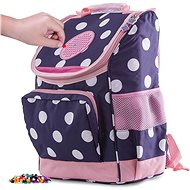 Pixie Crew Girl's Briefcase Blue for First Grade