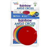 Colored circles with angles - Educational Toy