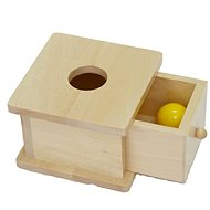 Box for inserting the ball - Educational Toy