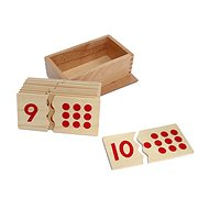 Numbers and dots - puzzle - Educational Toy