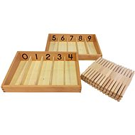 Box with Spindles - Educational Toy