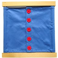 Closing Frame - Large Buttons - Educational Toy