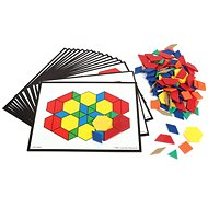 Colorful geometric shapes - report - Puzzle