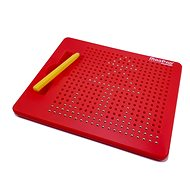 Magnetic drawing board Magpad - red - 380 balls - Board