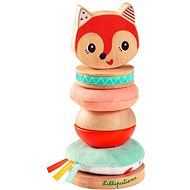 Lilliputiens - Alice the Fox - Stacking Pyramid - Educational Toy