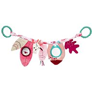 Lilliputiens - hanging pram toy - unicorn Louise's - Pushchair Toy