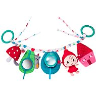 Lilliputiens - hanging toy for a pram - Little Red Riding Hood - Pushchair Toy