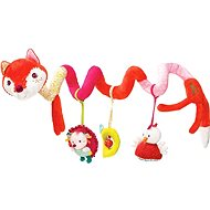 Lilliputiens - Alice the Fox - A spiral with activities - Pushchair Toy
