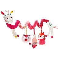 Lilliputiens - Louise Unicorn - A spiral with activities - Pushchair Toy