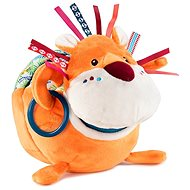 Lilliputiens - Lion Jack, the discoverer - a plush toy with activities