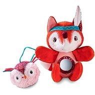 Lilliputiens - Alice the Fox - A puppet with activities - Toddler Toy