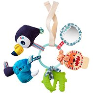 Lilliputiens - sensory toy - jungle - Baby Rattle & Teether