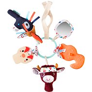Lilliputiens - sensory toy - farm - Baby Rattle & Teether