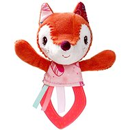 Lilliputiens - Alice the Fox - Teether - Baby Rattle & Teether